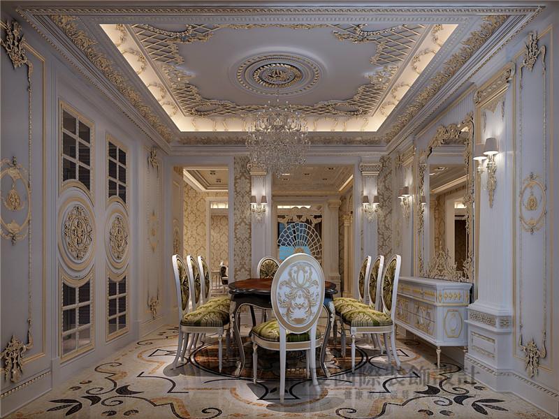 徜徉墅 欧式 法式 混搭 别墅 别墅装修 餐厅图片来自沙漠雪雨在徜徉墅高贵典雅贵族式生活的分享