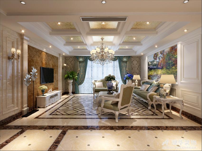 欧式 别墅 客厅图片来自澳华会所-杨敏在精致细腻欧式风的分享