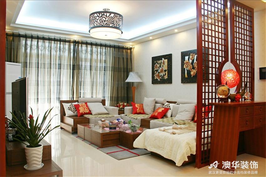 别墅 客厅图片来自澳华装饰-杨敏在中式雅苑的分享
