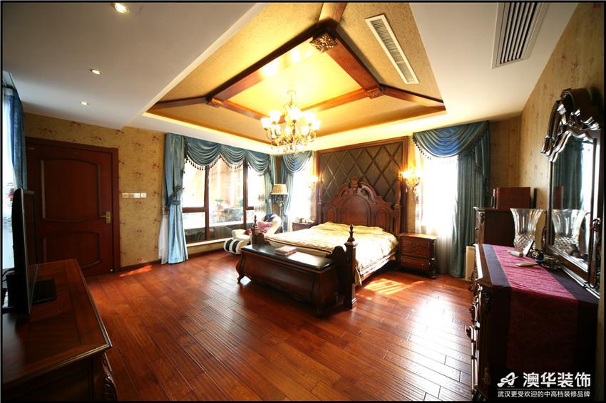 混搭 别墅 卧室图片来自澳华装饰-杨敏在穿越的空间的分享
