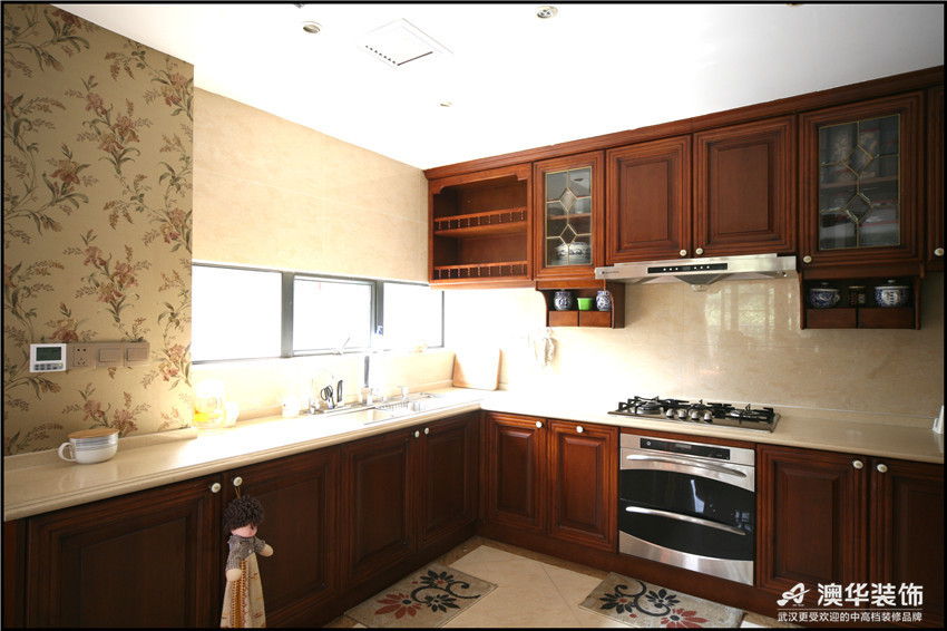 混搭 别墅 厨房图片来自澳华装饰-杨敏在穿越的空间的分享