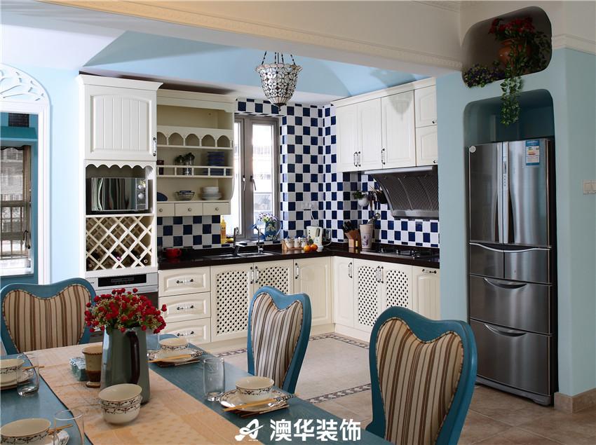 白领 小资 厨房图片来自澳华装饰-韩玉在地中海风格的分享