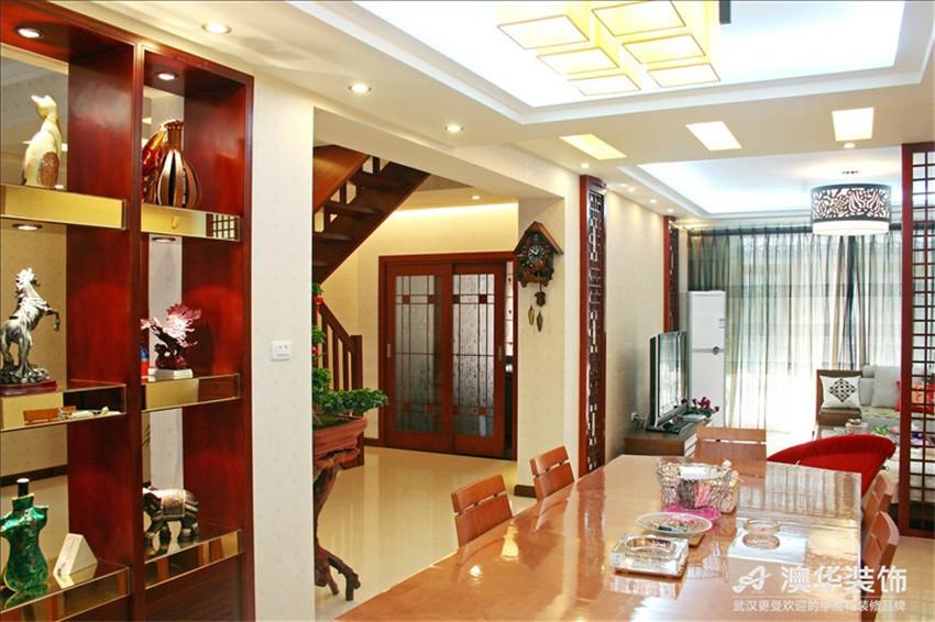 别墅 餐厅图片来自澳华装饰-杨敏在中式雅苑的分享