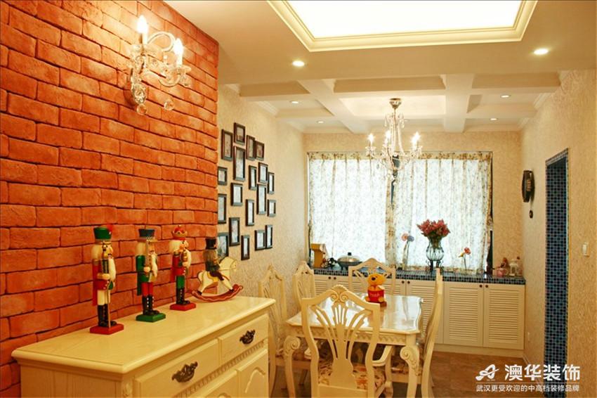 田园 别墅 餐厅图片来自澳华装饰-杨敏在欧式田园小清新的分享