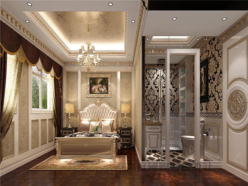 徜徉墅 欧式 法式 混搭 别墅 别墅装修 卧室图片来自沙漠雪雨在徜徉墅高贵典雅贵族式生活的分享