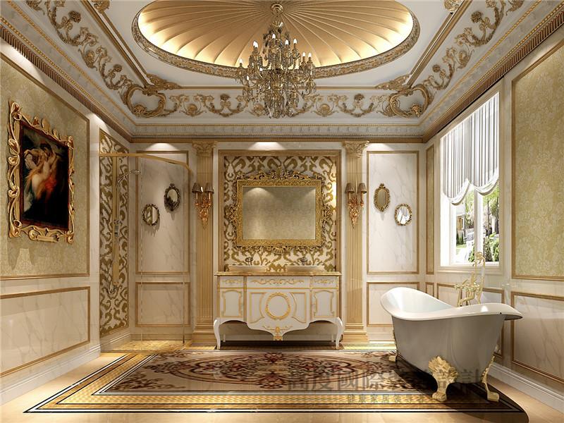 徜徉墅 欧式 法式 混搭 别墅 别墅装修 卫生间图片来自沙漠雪雨在徜徉墅高贵典雅贵族式生活的分享