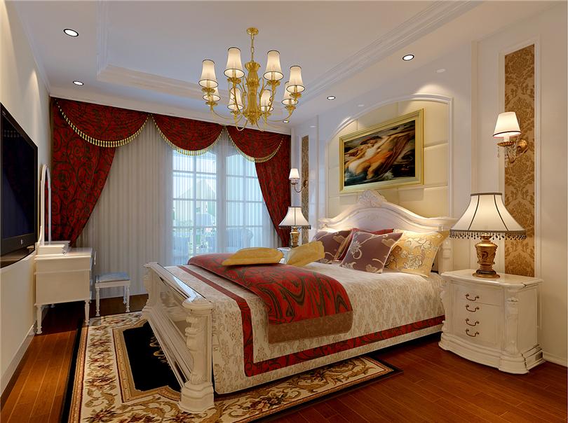 田园 二居 白领 收纳 80后 小资 卧室图片来自实创装饰完美家装在K2清水湾99平田园风格案例赏析的分享