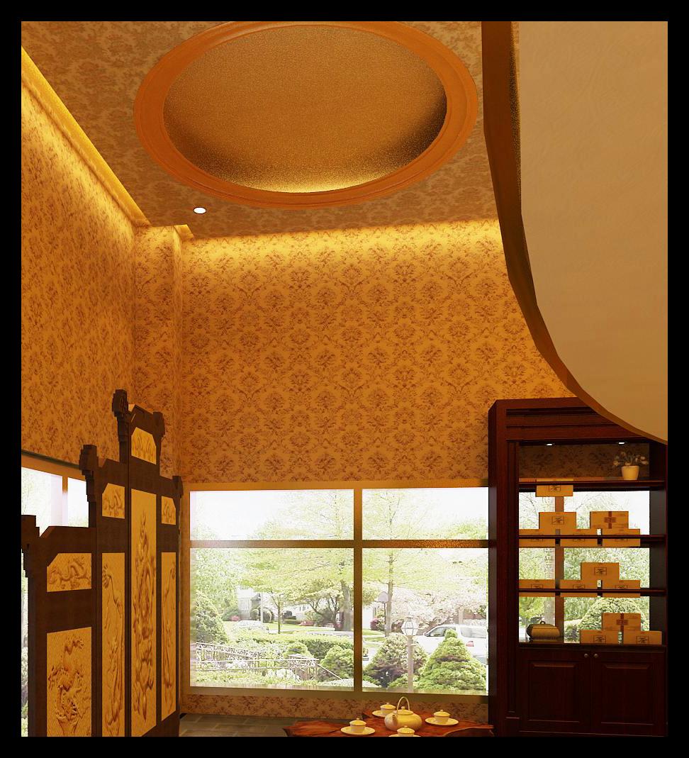 中式 其他图片来自专业承接设计及施工在川陕立交皇宫叶茶专卖店的分享
