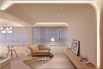 现代风格的56平方米的一室晴居