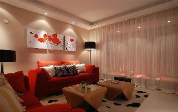 两室两厅的炫彩生活