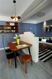 84平具有现代简约风格的两居室
