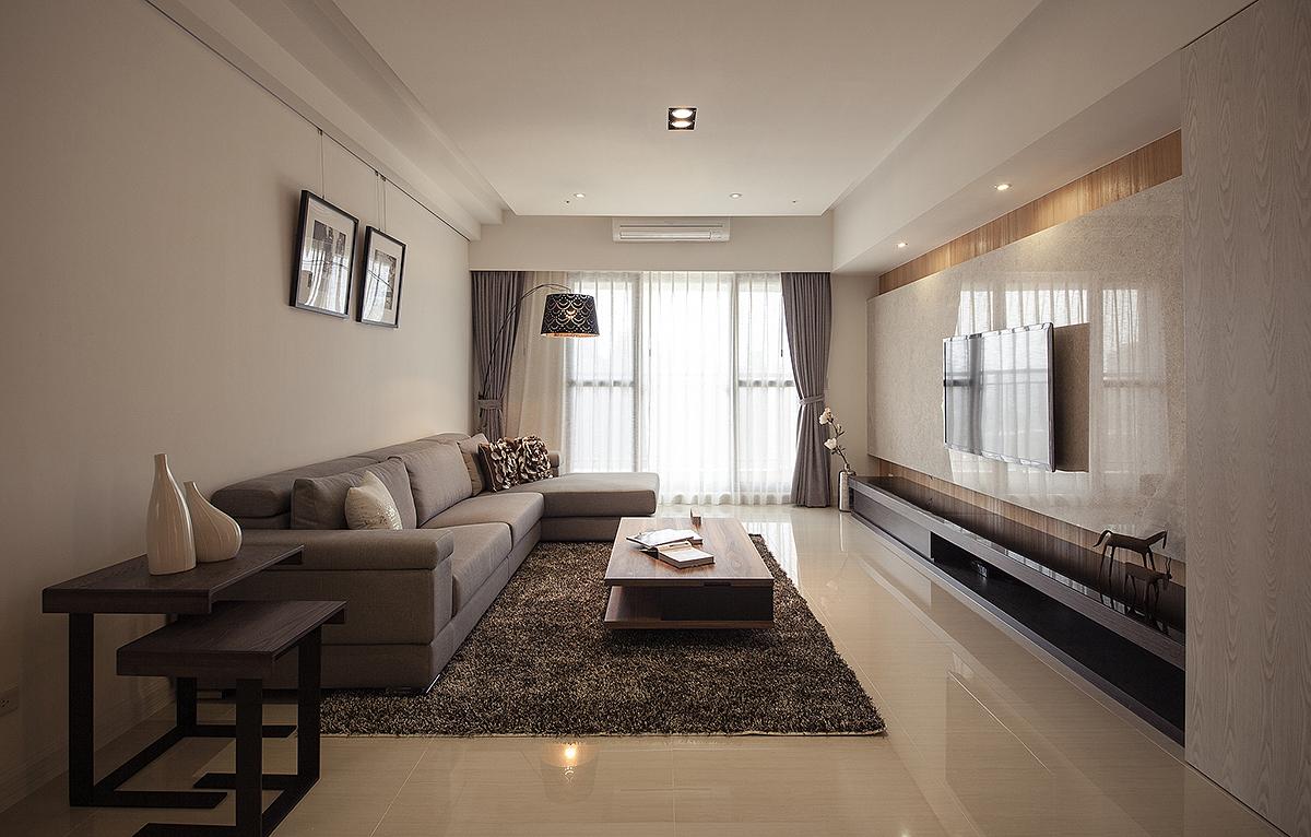 简约 三居 80后 小资 客厅图片来自二十四城装饰重庆分公司在凤凰湾的分享
