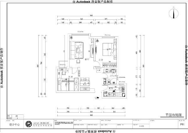 从入户门进来右手边是厨房的位置,厨房呈L字形,使用方便,内置窗户,光线明亮。入户门右边是餐厅的位置,餐厅处宽敞可设计卡座,卡座旁可放置鞋柜。