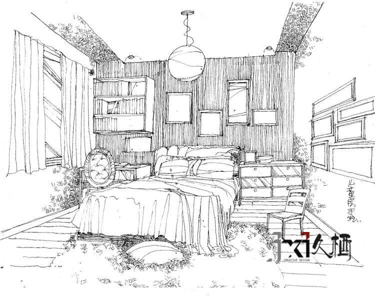 新房装修 久栖设计 三居 新古典 收纳 儿童房图片来自久栖设计在【久栖设计】新古典奢华风的分享
