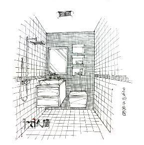 三居 北欧 温馨 收纳 旧房改造 久栖设计 北京 卫生间图片来自久栖设计在【久栖设计】花絮小景的分享