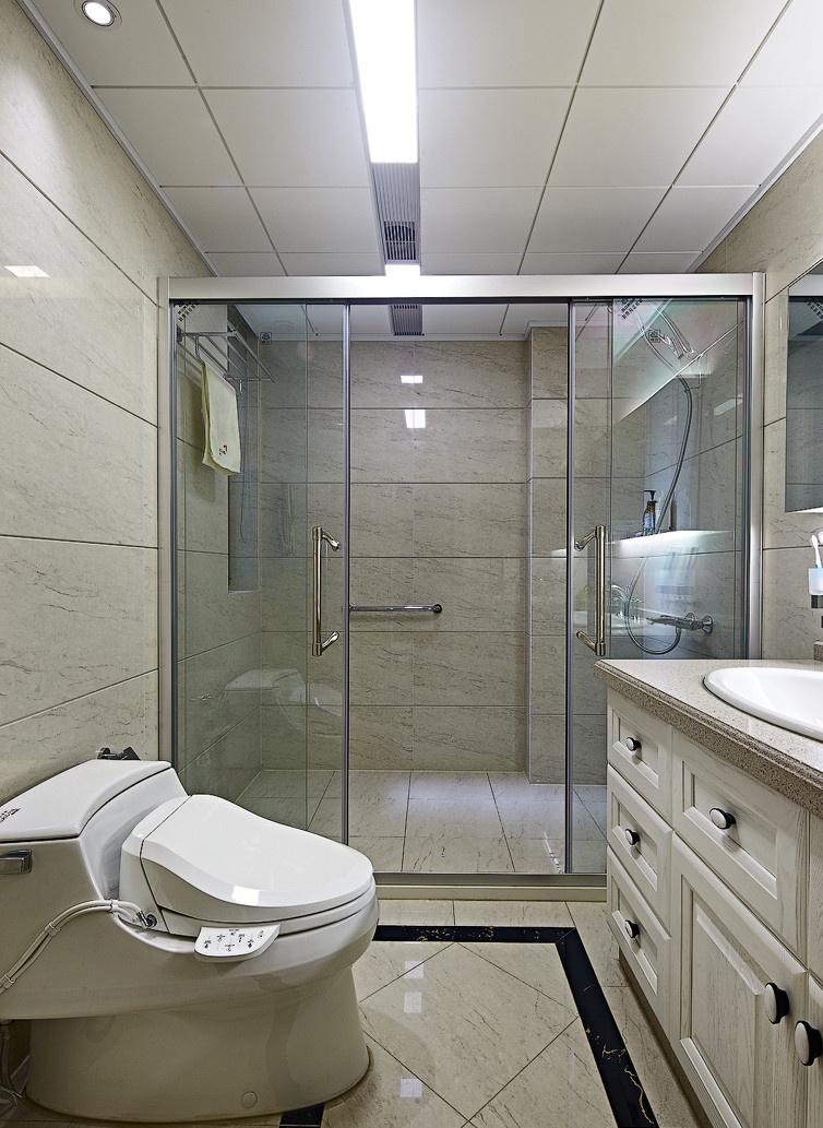 卫生间图片来自二十四城装饰重庆分公司在南方玫瑰城-4的分享