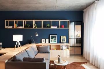 设计师的48㎡一居室