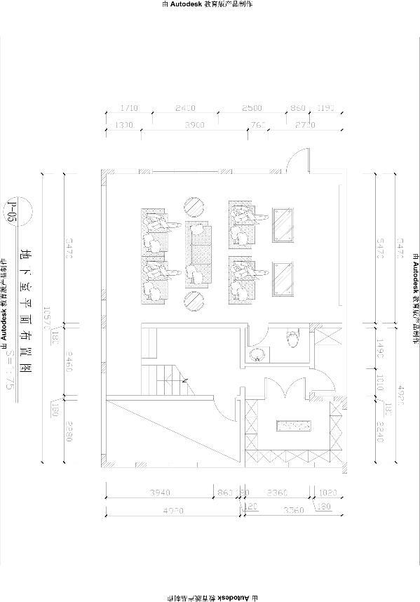 生活家装饰--东郡府230平米独栋别墅中式风格户型图