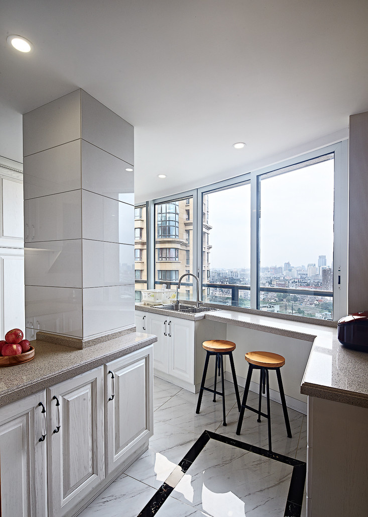 厨房图片来自二十四城装饰重庆分公司在南方玫瑰城-4的分享