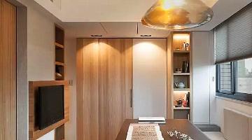 46平现代简约全能超小Loft的房子