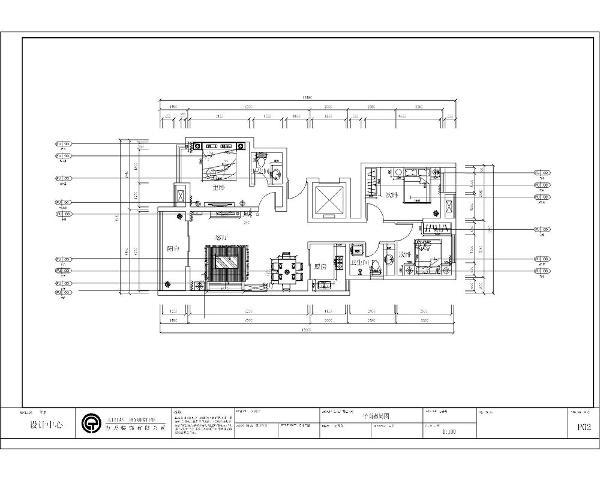 厅与餐厅相连,使客厅与餐厅采光效果更好,生活方便,独立卧室,所有物品为双人份,走廊与过道为深入式加大了两个卧室的私密性与隔音效果。