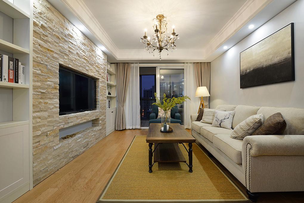 三居 混搭 客厅图片来自二十四城装饰重庆分公司在康桥融府的分享