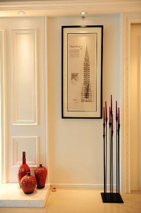 二居 新古典 小资 玄关图片来自武汉苹果装饰在猫舍—演绎现代新古典的分享