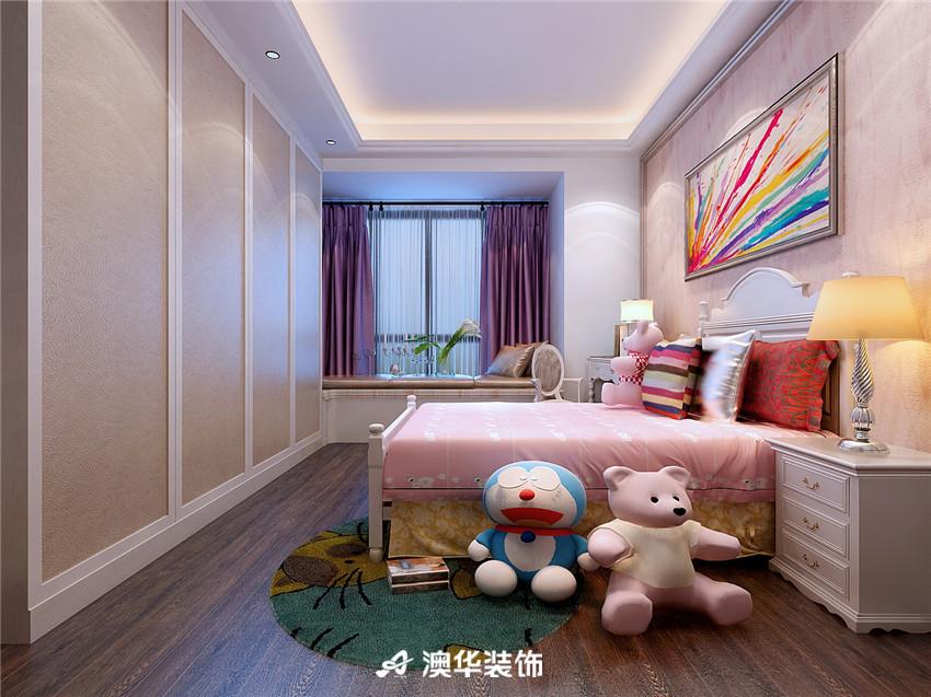 欧式 四居 皮质沙发 欧式家具 儿童房图片来自澳华装饰-郭蕾在复地东湖国际--欧式奢华盛宴的分享