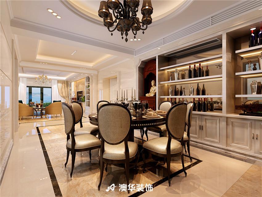 欧式 四居 皮质沙发 欧式家具 餐厅图片来自澳华装饰-郭蕾在复地东湖国际--欧式奢华盛宴的分享