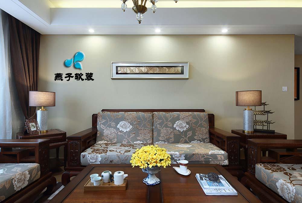 混搭 三居 客厅图片来自燕子软装在仁恒江湾城/岁月的神韵的分享