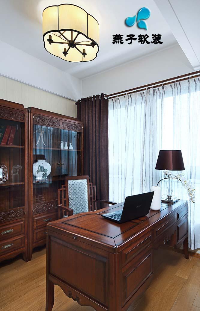 混搭 三居 书房图片来自燕子软装在仁恒江湾城/岁月的神韵的分享
