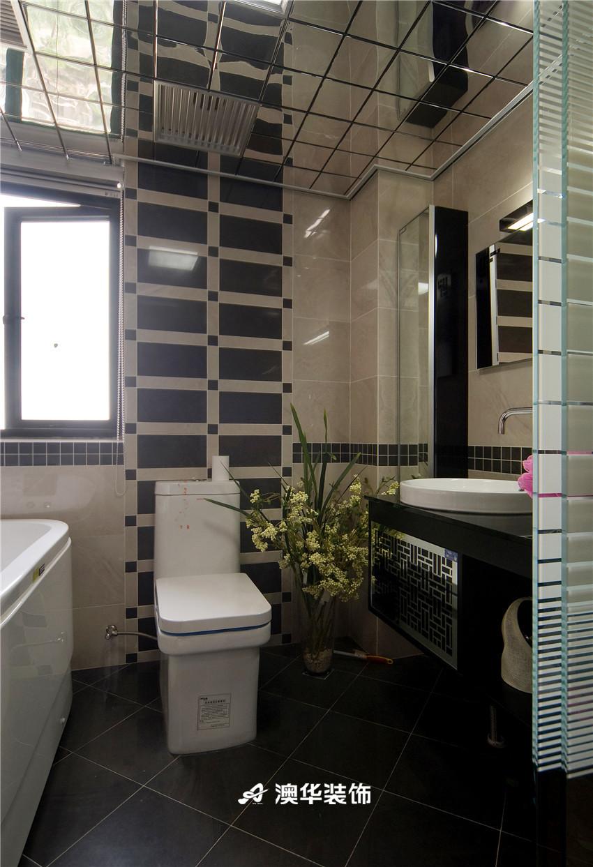 简约 现代 三居 收纳 80后 卫生间图片来自澳华装饰-郭蕾在香榭琴台--简约现代,中性之美的分享