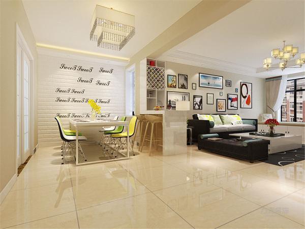 本案为玺岳标准层B户型2室2厅1厨1卫95㎡户型。在整体平面布局上强调空间的自然融合。