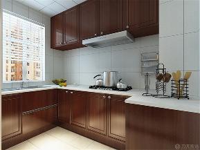 力天装饰 瑞鑫家园 三居 80后 收纳 中式 白领 旧房改造 简约 厨房图片来自阳光rime-晓璐在力天装饰-瑞鑫家园-新中式-120㎡的分享