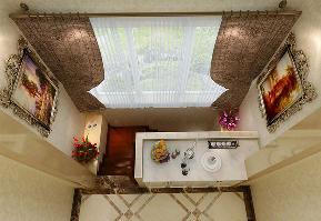 美式 别墅 白领 收纳 80后 小资 楼梯图片来自实创装饰百灵在香悦四季200平米装修设计的分享