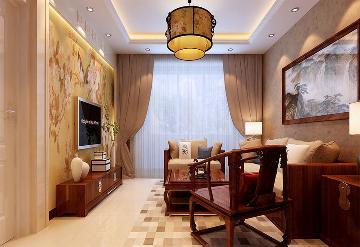 中式风格品味生活90平米
