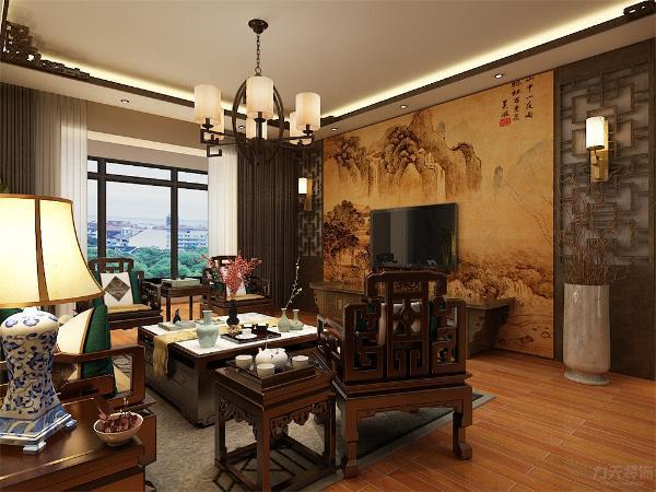 客厅是一个家庭温暖的地方,客厅设计我们采用动线合理的布置,交通设计流畅,使我们更好的利用空间。