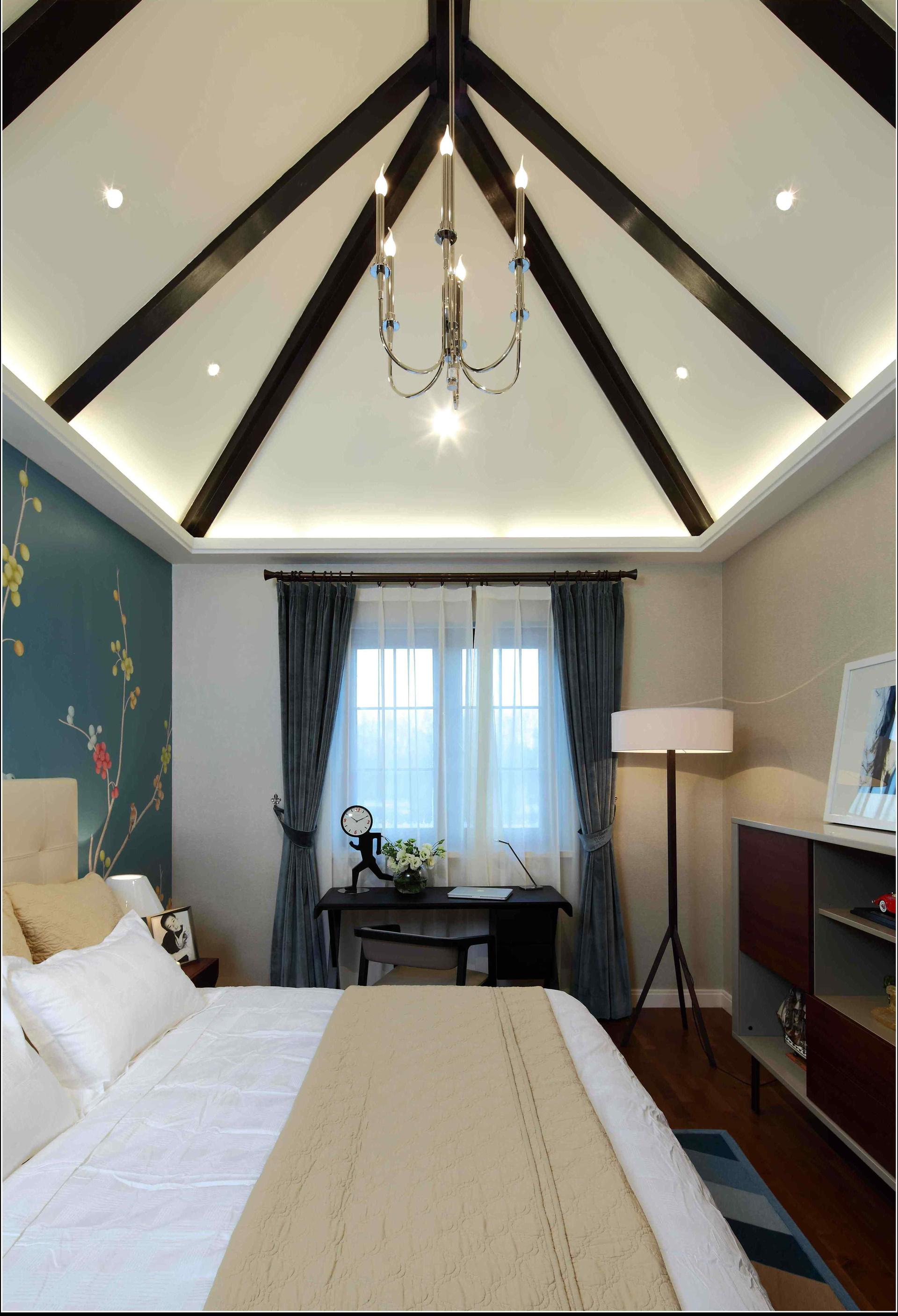卧室图片来自二十四城装饰重庆分公司在南山独栋的分享