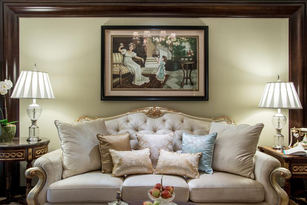 欧式 客厅图片来自陈秋汐-Cecilia在华尔兹时光-棕榈泉的分享