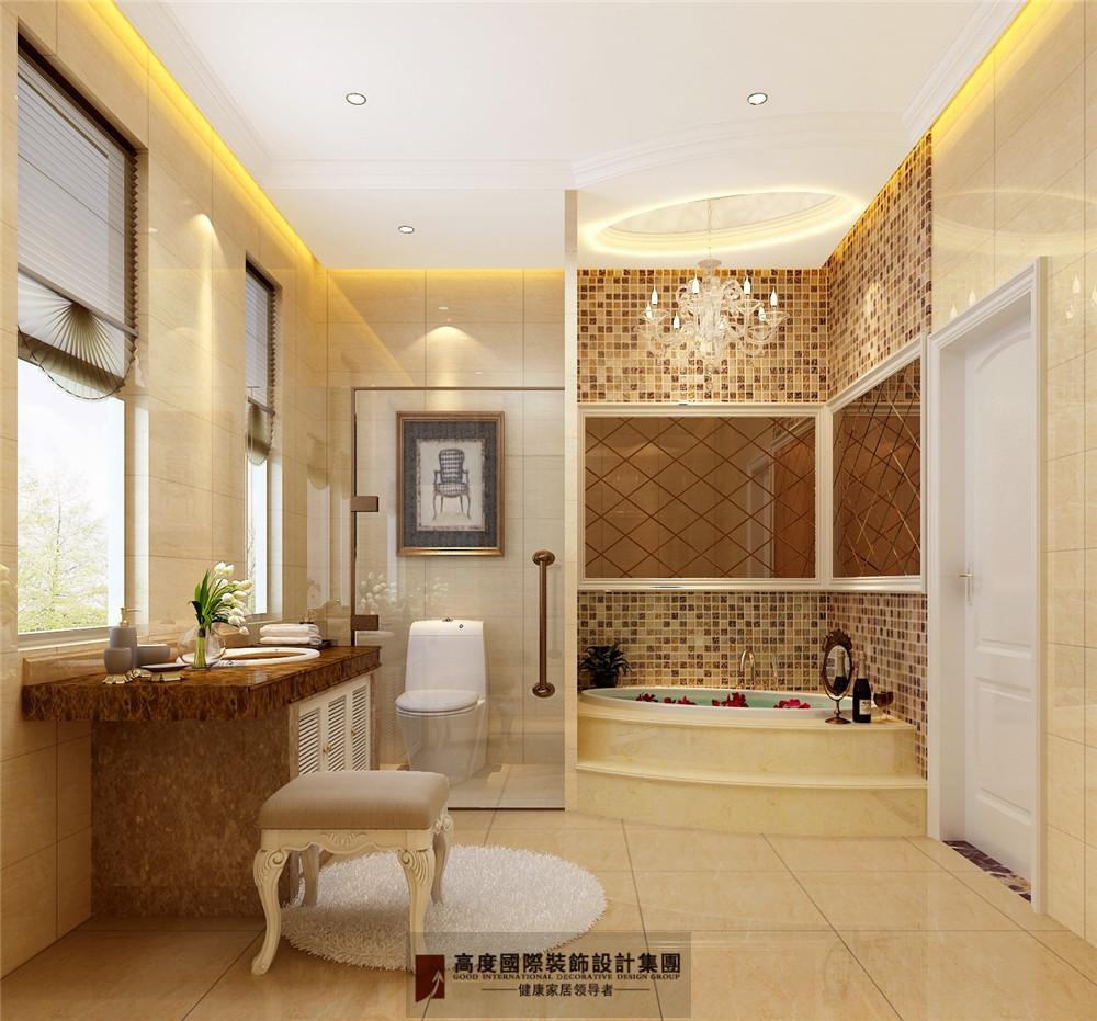 简约 欧式 田园 混搭 三居 收纳 旧房改造 80后 小资 卫生间图片来自杭州高度国际装饰设计在康城一品-233平方欧式古典风格的分享