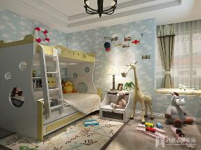 白领 小资 三居 美式 儿童房图片来自陈小迦在美式典雅风范的分享