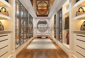 简约 欧式 田园 混搭 别墅 收纳 旧房改造 80后 小资 衣帽间图片来自杭州高度国际装饰设计在华特山庄-500平方欧式风格的分享