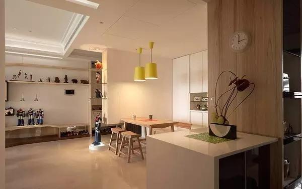 简约 二居 客厅图片来自实创装饰上海公司在86㎡暖色原木风的分享