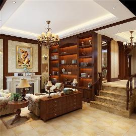 华元玉榕庄-500平方美式风格