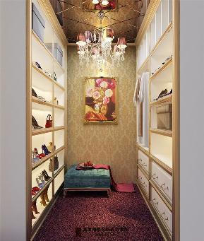 简约 欧式 田园 混搭 三居 收纳 旧房改造 80后 小资 衣帽间图片来自杭州高度国际装饰设计在康城一品-233平方欧式古典风格的分享
