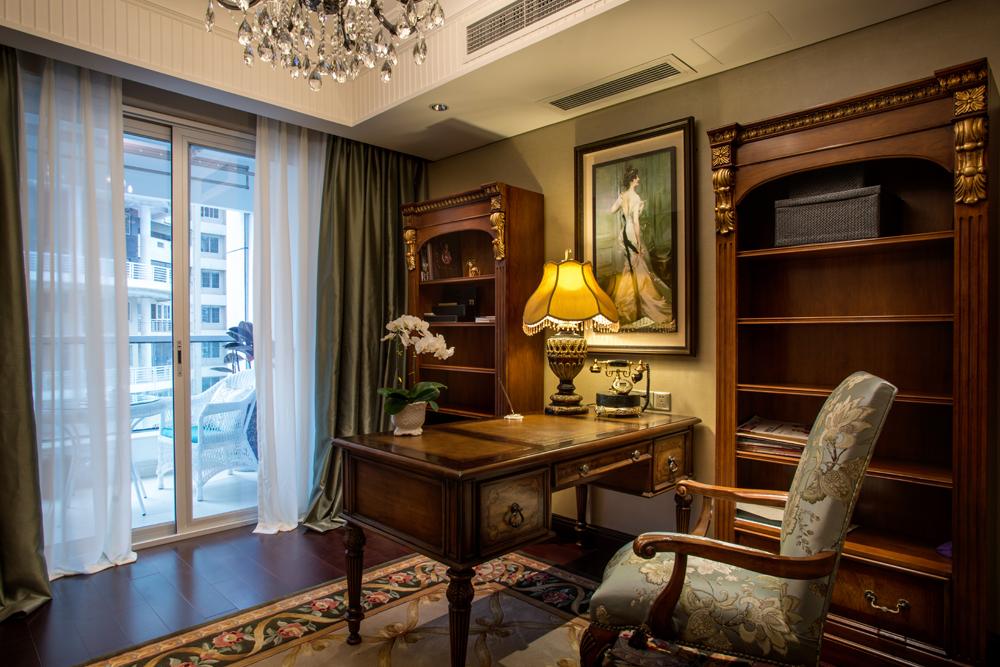 欧式 书房图片来自陈秋汐-Cecilia在华尔兹时光-棕榈泉的分享