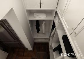 简约 现代 三居 白领 80后 小资 衣帽间图片来自百家装饰-小敬在保利达江湾城三居室现代风格设计的分享