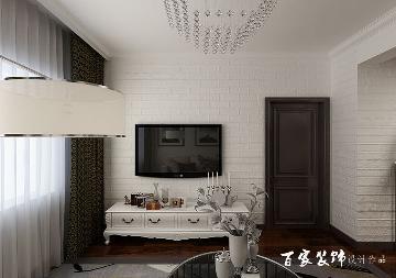 保利达江湾城三居室现代风格设计