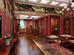 新古典 别墅 别墅装修 高度国际 尙层 楼梯图片来自沙漠雪雨在450平米优雅华贵苏格兰风情的分享