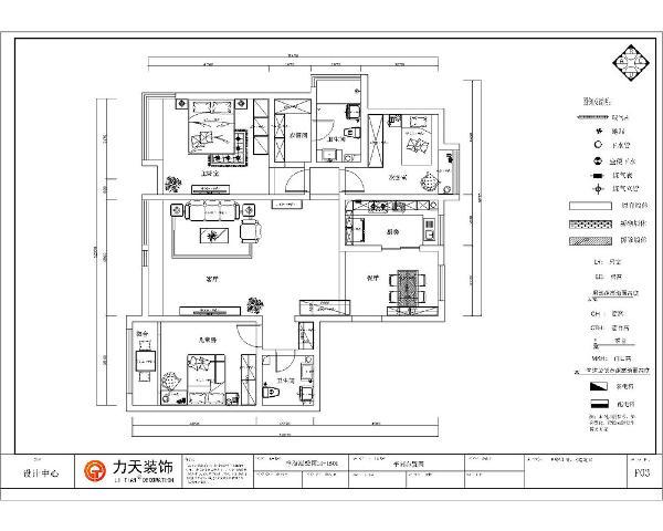 入户门进入的右手边是餐厅的位置,餐桌为四人餐桌,餐桌的前方是厨房的位子,厨房为L型橱柜,橱柜储物空间多,足以满足人的空间需求,厨房的前方是次卧室的位置。